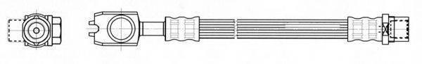 CEF 512537 Тормозной шланг