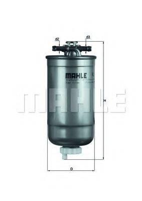 KNECHT KL147D Топливный фильтр