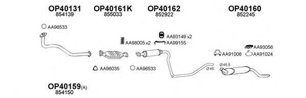 VENEPORTE 400474 Система выпуска ОГ