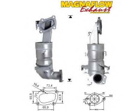 MAGNAFLOW 75610D Катализатор