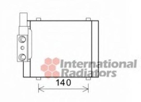 VAN WEZEL 03003325 масляный радиатор, двигательное масло