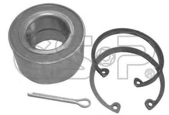 GSP GK0663 Комплект подшипника ступицы колеса