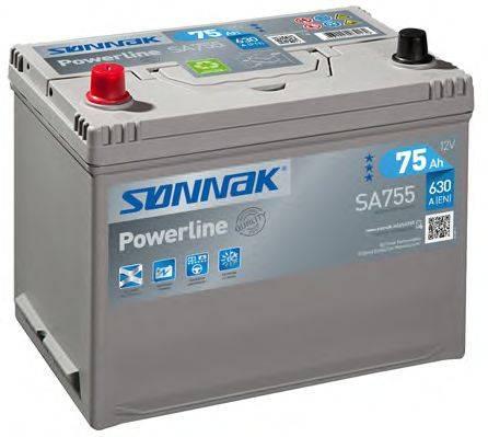 SONNAK SA755 Стартерная аккумуляторная батарея; Стартерная аккумуляторная батарея