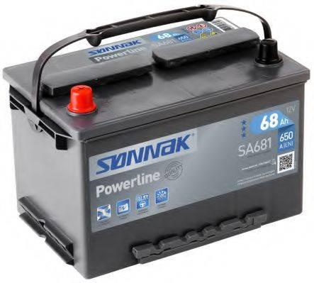 SONNAK SA681 Стартерная аккумуляторная батарея; Стартерная аккумуляторная батарея