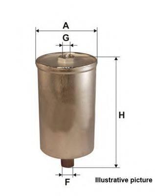 OPEN PARTS EFF512220 Топливный фильтр