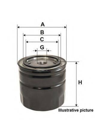 OPEN PARTS EOF413820 Масляный фильтр