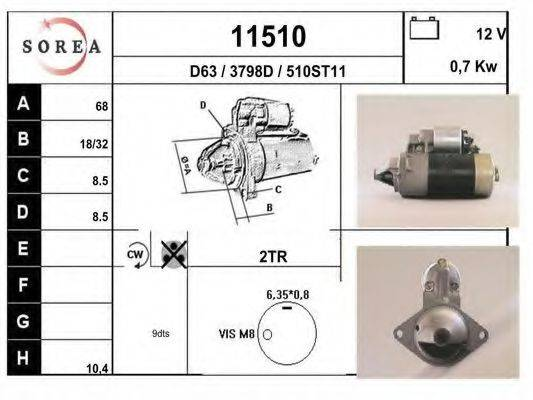 EAI 11510 Стартер