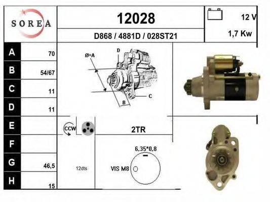 EAI 12028 Стартер