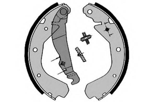 RAICAM RA24640 Комплект тормозных колодок