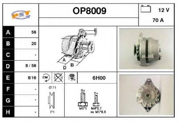 SNRA OP8009 Генератор