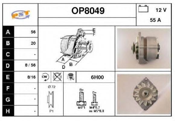 SNRA OP8049 Генератор