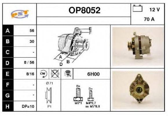 SNRA OP8052 Генератор