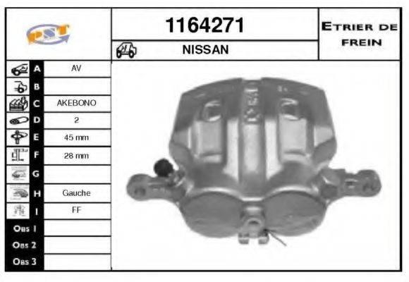 SNRA 1164271 Тормозной суппорт