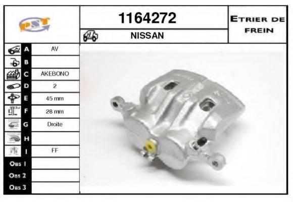 SNRA 1164272 Тормозной суппорт