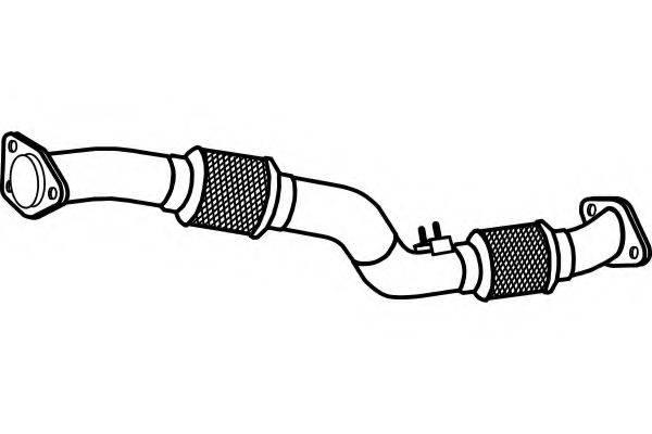 FENNO P4100 Труба выхлопного газа