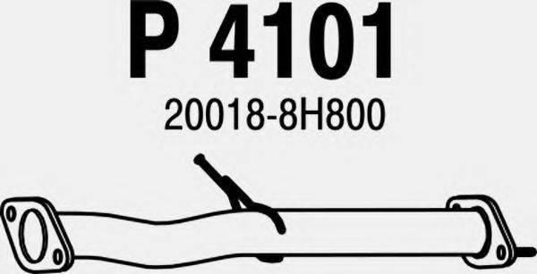FENNO P4101 Труба выхлопного газа