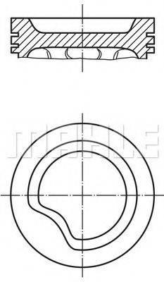 PERFECT CIRCLE 56027780 Поршень