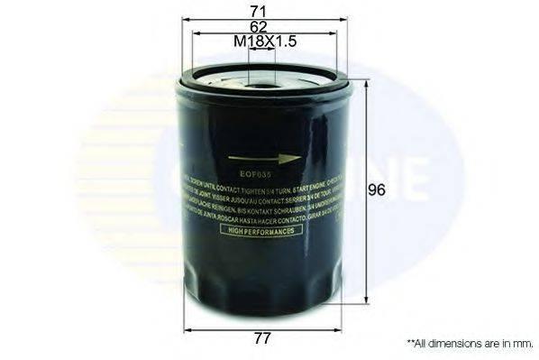 COMLINE EOF035 Масляный фильтр