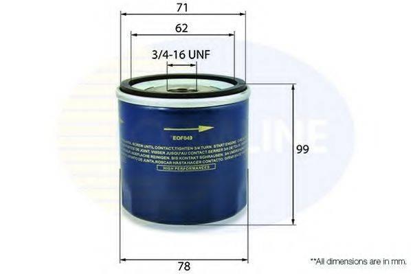COMLINE EOF047 Масляный фильтр