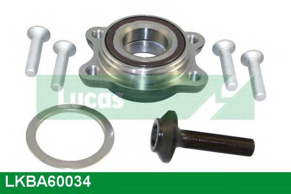 LUCAS ENGINE DRIVE LKBA60034 Комплект подшипника ступицы колеса