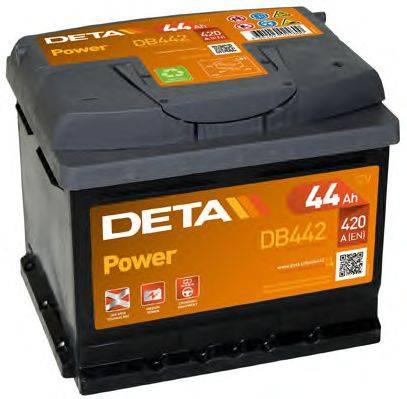 DETA DB442 Стартерная аккумуляторная батарея; Стартерная аккумуляторная батарея