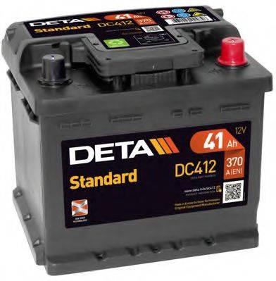 DETA DC412 Стартерная аккумуляторная батарея; Стартерная аккумуляторная батарея