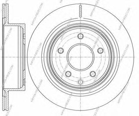NPS N331N03 Тормозной диск