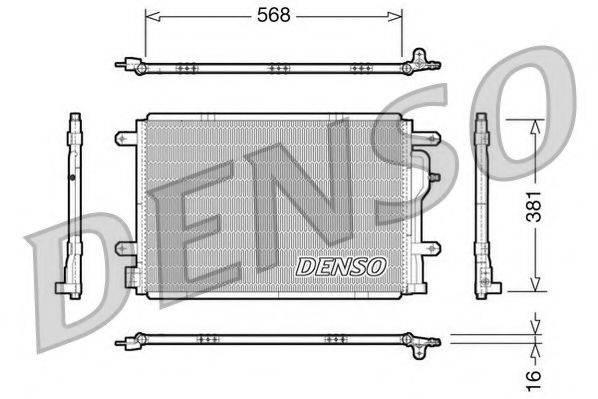 NPS DCN02004 Конденсатор, кондиционер