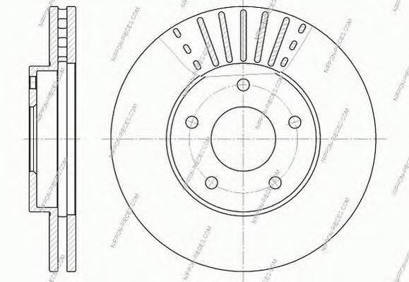 NPS N330N11 Тормозной диск
