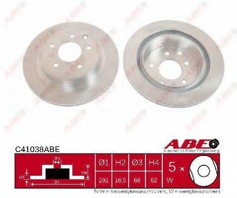 ABE C41038ABE Тормозной диск