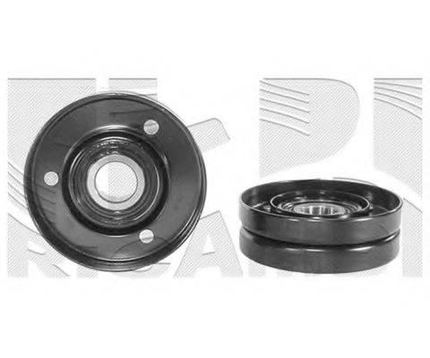 KM INTERNATIONAL FI3040 Натяжной ролик, поликлиновой  ремень