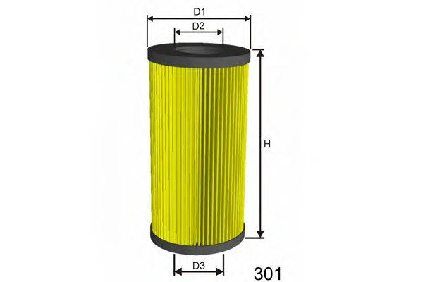 MISFAT L011A Масляный фильтр