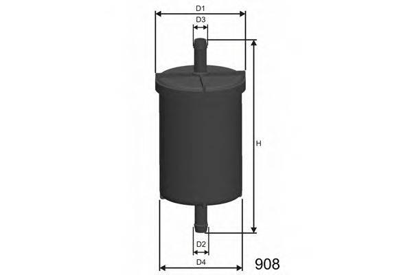 MISFAT E510 Топливный фильтр