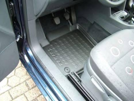 CARBOX 407090000 Резиновый коврик с защитными бортами
