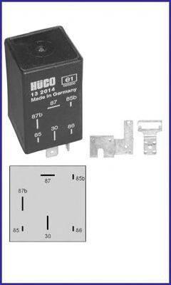 HITACHI 132014 Реле, топливный насос