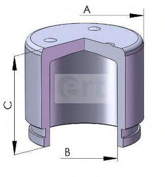 ERT 150759C Поршень, корпус скобы тормоза