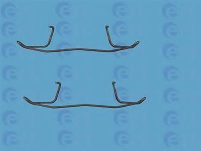 ERT 420004 Комплектующие, колодки дискового тормоза