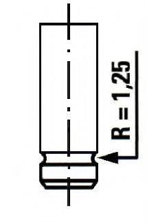 ET ENGINETEAM VE0011 Выпускной клапан