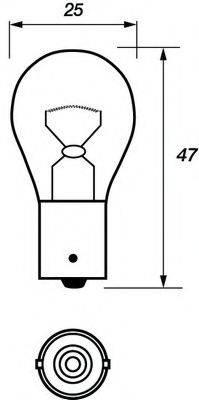 MOTAQUIP VBU382 Лампа накаливания, фонарь указателя поворота; Лампа накаливания, фонарь сигнала торможения; Лампа накаливания, задняя противотуманная фара; Лампа накаливания, фара заднего хода; Лампа накаливания, задний гарабитный огонь; Лампа накаливания, oсвещение салона; Лампа накаливания, стояночный / габаритный огонь; Лампа накаливания, дополнительный фонарь сигнала торможения; Лампа, мигающие / габаритные огни; Лампа накаливания, фара дневного освещения