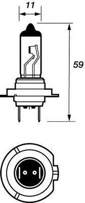 MOTAQUIP VBU499 Лампа накаливания, фара дальнего света; Лампа накаливания, основная фара; Лампа накаливания, противотуманная фара; Лампа накаливания, фара с авт. системой стабилизации