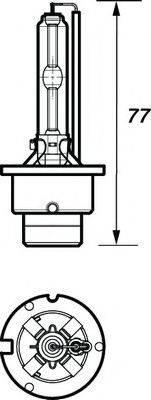 MOTAQUIP VBUD2S Лампа накаливания, фара дальнего света; Лампа накаливания, основная фара