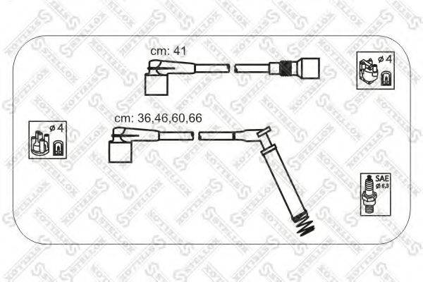 STELLOX 1038450SX Комплект проводов зажигания