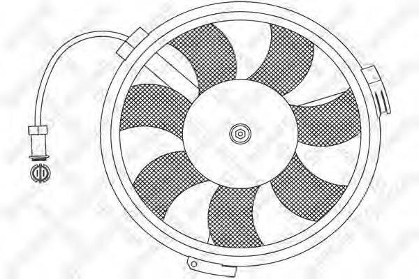 STELLOX 2999013SX Вентилятор, охлаждение двигателя