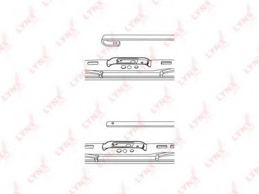 LYNXAUTO 550L Щетка стеклоочистителя