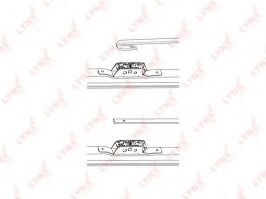 LYNXAUTO LW550 Щетка стеклоочистителя