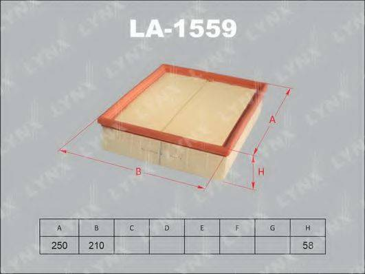 LYNXAUTO LA1559 Воздушный фильтр