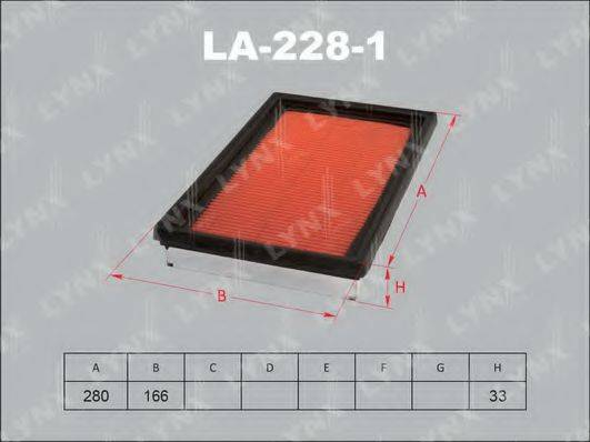 LYNXAUTO LA2281 Воздушный фильтр