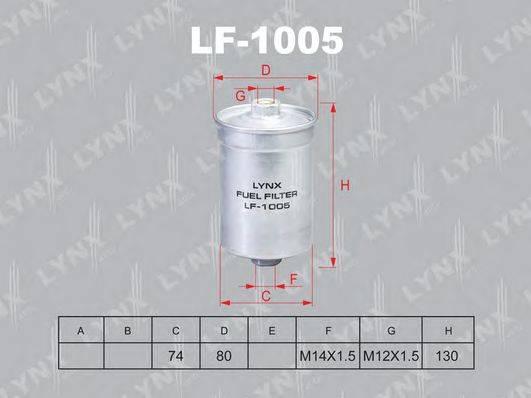 LYNXAUTO LF1005 Топливный фильтр