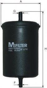 MFILTER BF674 Топливный фильтр