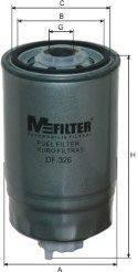MFILTER DF326 Топливный фильтр